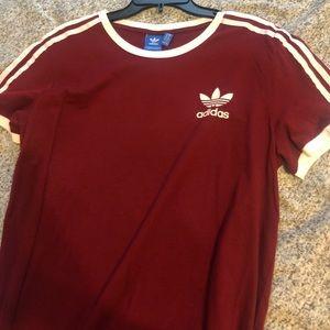Short sleeve adidas shirt